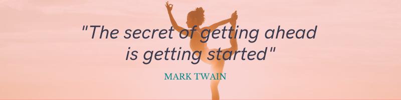 Beginners Yoga Quote