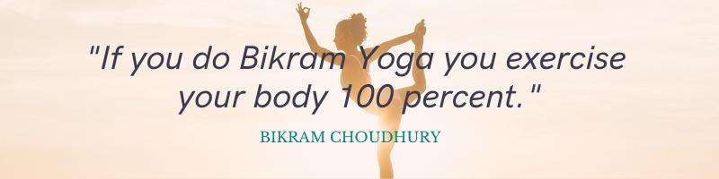 Hot Yoga Benefits - Quote