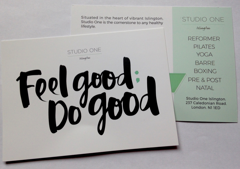 Feel Good. Do Good - Studio One, Yoga Islington